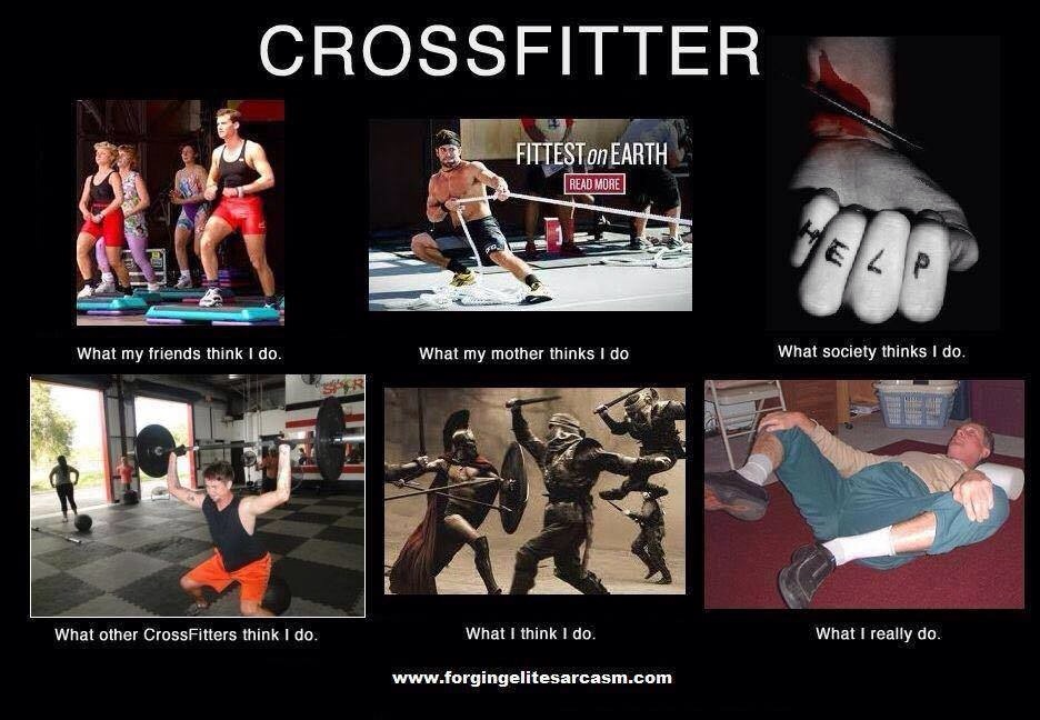 Crossfit sucks meme